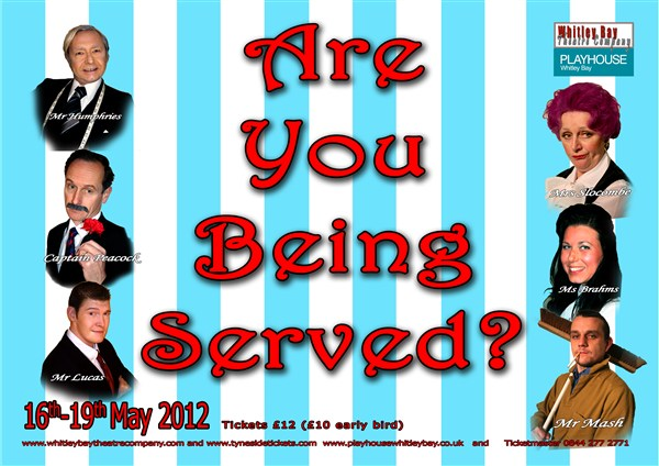 """""""Are You Being Served?"""" presented by Whitley Bay Theatre Company"""
