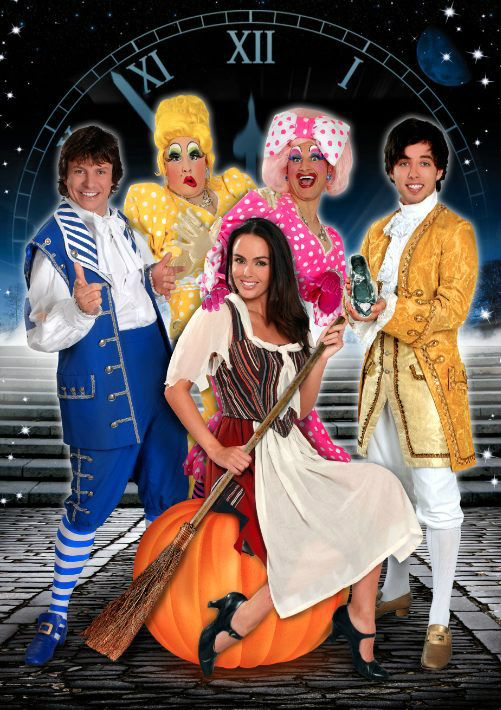 Cinderella Pantomime presented by Blue Genie Entertainment starring Jennifer Metcalfe, Keith Jack & Steve Walls