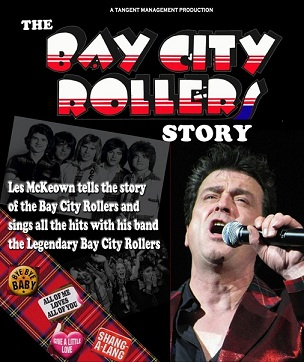 The Bay City Rollers Story with Les McKeown and his band the Legendary Bay City Rollers