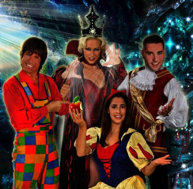Christmas Pantomime: Blue Genie Entertainment presents 'Snow White and the Seven Dwarfs' with Steve Walls and Faye Tozer from Steps