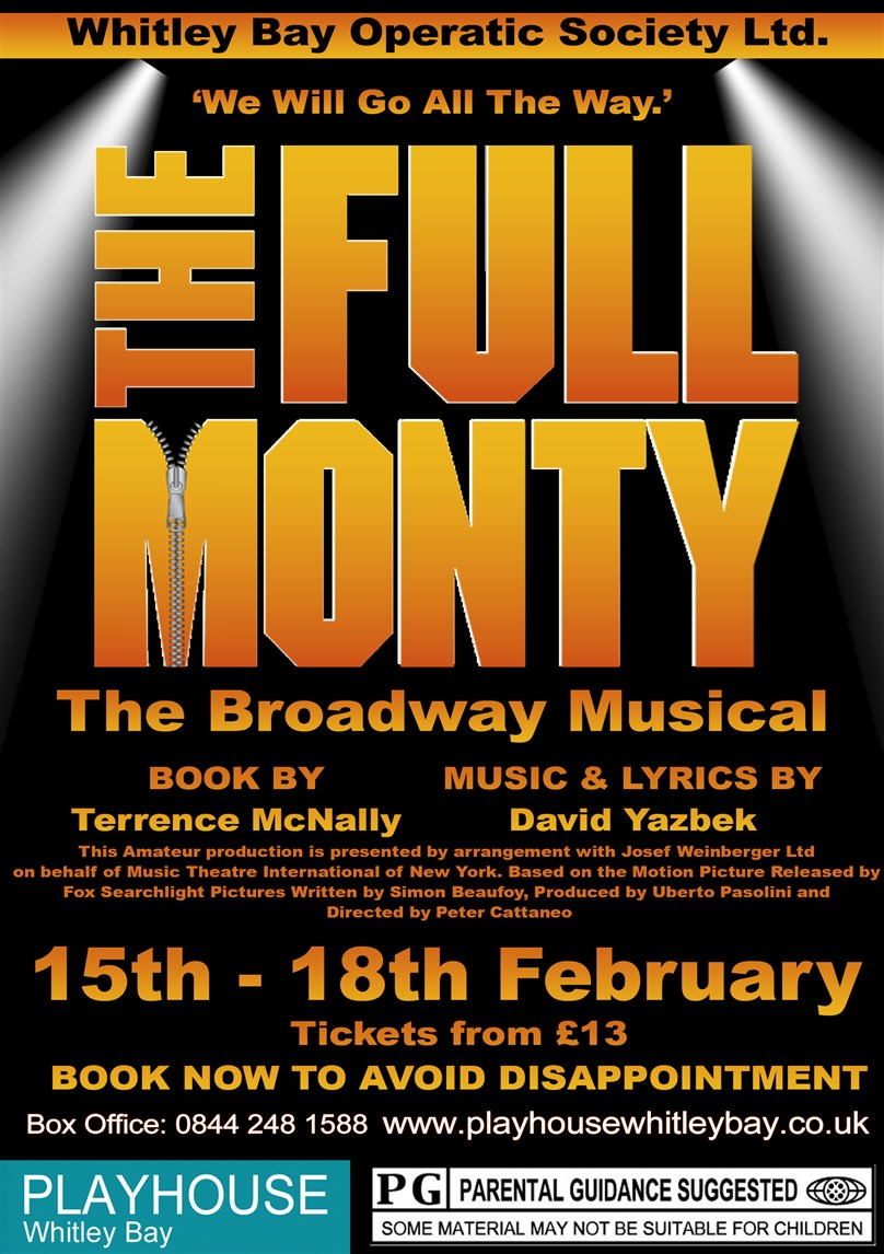 Whitley Bay Operatic Society presents 'The Full Monty'