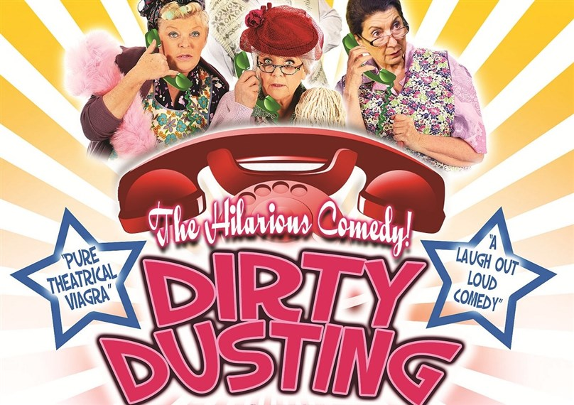 Dirty Dusting starring Crissy Rock, Leah Bell and Dolores Porretta Brown