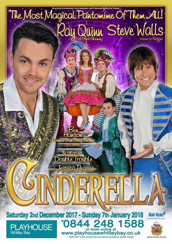 Christmas Pantomime: Blue Genie Entertainment Presents 'Cinderella' Starring Ray Quinn and Steve Walls