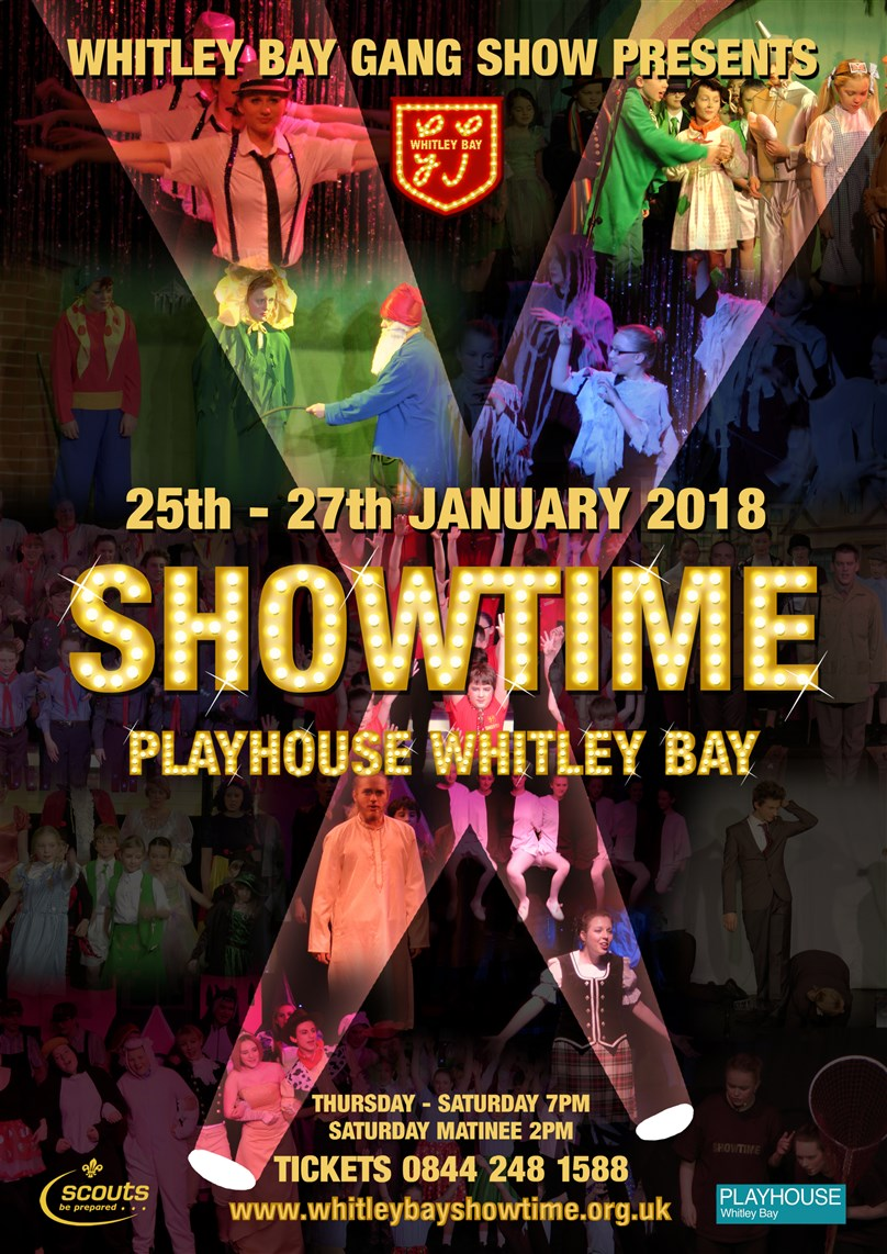 WHITLEY BAY GANG SHOW PRESENTS 'SHOWTIME'
