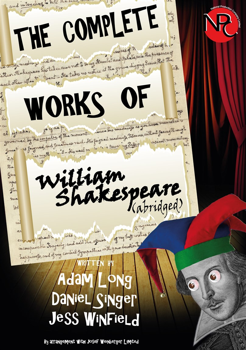 The Complete Works of William Shakespeare *RESCHEDULED*