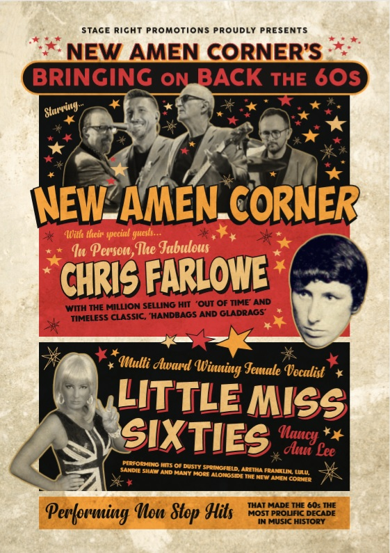 Bringing On Back The 60s Starring The New Amen Corner Plus Special Guests
