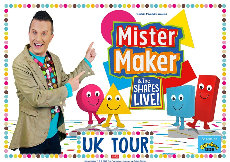 Mister Maker & The Shapes - Live