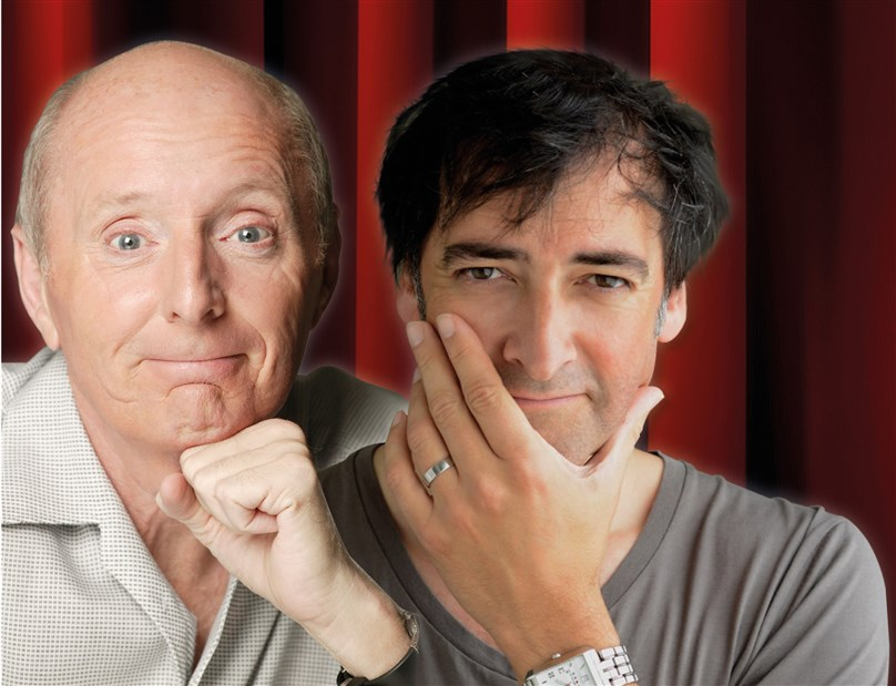 An Evening Shared With Jasper Carrot and Alistair McGowan