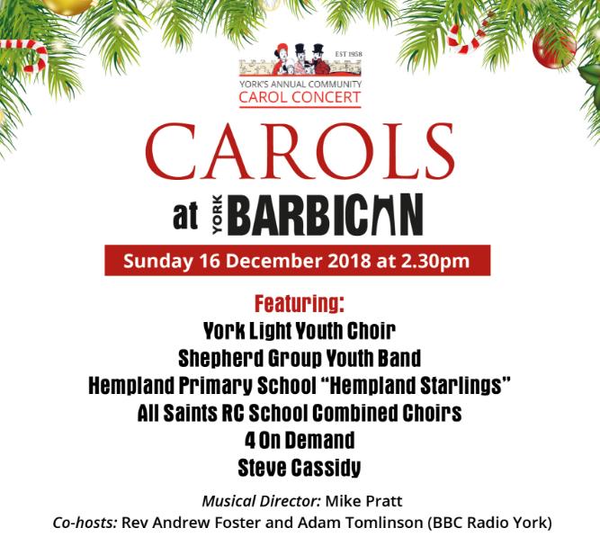 York's Annual Community Carol Concert