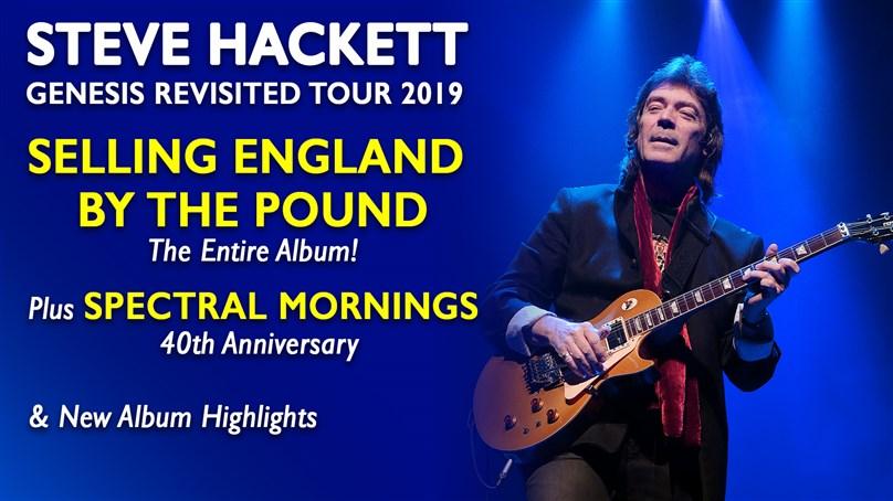 Steve Hackett Genesis Revisited 2019