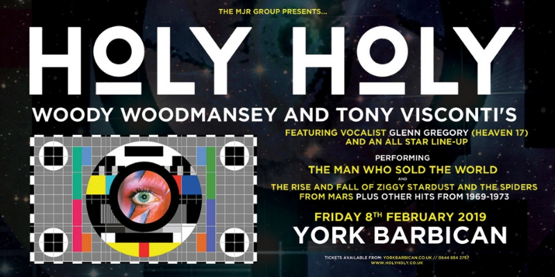 Holy Holy Featuring Woody Woodmansey & Tony Visconti