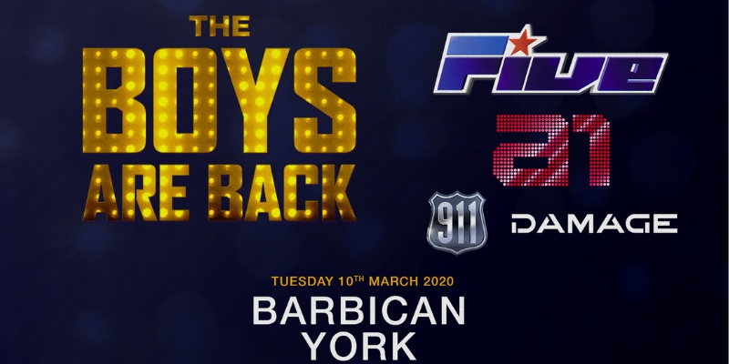 The Boys Are Back! Ft. 5ive, A1, 911 & Damage