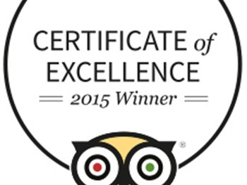 We've Been Given The Certificate Of Excellence!