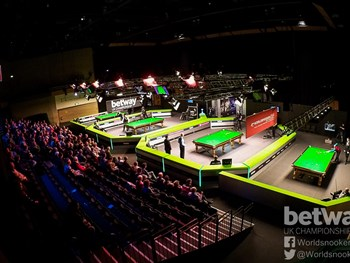 UK Snooker Championship Draw