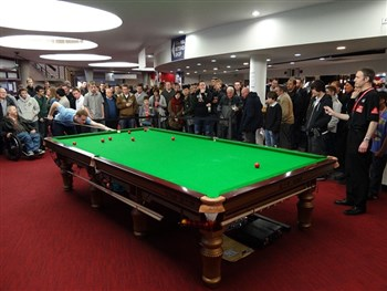 Our box office times are changing during the U.K Snooker Championships!