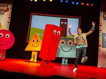 Mister Maker & The Shapes are coming to York!