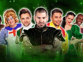 Boyzone's Shane Lynch leads an all star cast in our action packed Christmas Pantomime!