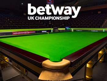 Tickets for the 2018 Betway UK Snooker Championship go on sale on Monday @ 10am!