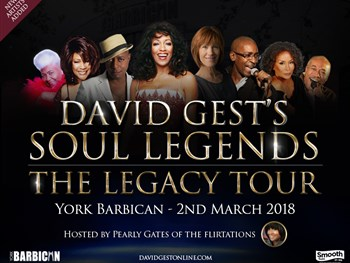 **POSTPONED** David Gest Soul Legends - The Legacy Tour