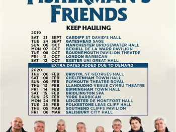 Fisherman's Friends Extend UK 2020 Tour
